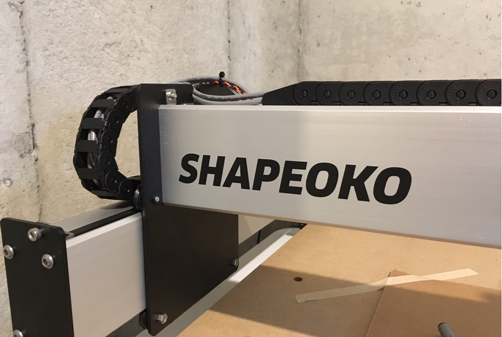 Shapeoko XL – First impressions – Doing the things
